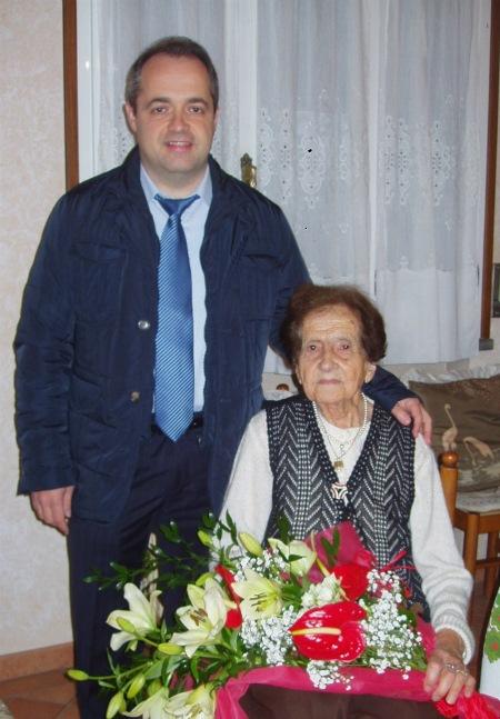 Alba Cabrini 102 anni
