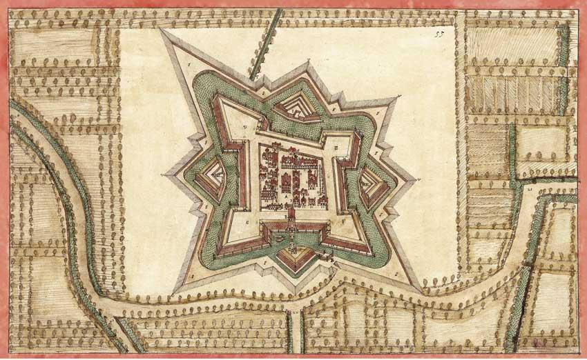 La mappa delle mura