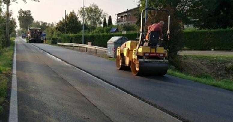 lavori asfaltatura strade provinciali