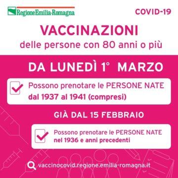 Leggi: «Vaccino, da lunedì 1 marzo le…»
